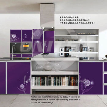 Modern kitchen cabinet aluminium kitchen cabinet kitchen for Kitchen set aluminium modern