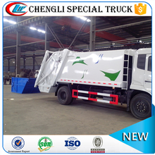 DONGFENG 4*2 210hp 12CBM RHD Rear Loader Garbage Truck