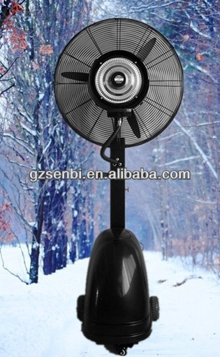 26''/30'' magic ice cool water spray mist fan