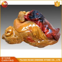 Natural Precious Treasures Hand Carve Jade Factory China