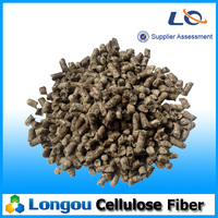 Construction grade and industrial chemical SMA road and airport used cellulose fiber