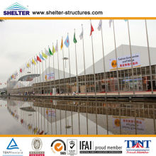 15m,20m,25m Width Large pagoda tent supplied for Canton Fair 2009, 2010, 2011