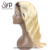 Dark Roots Blonde Brazilian Wet And Wavy Ombre Human Hair Full Lace Wig Extensions For Black Women