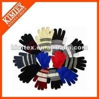 Promotional cheap knitting magic gloves