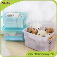 26L 35L 50Ll pp plastic storage box toy container