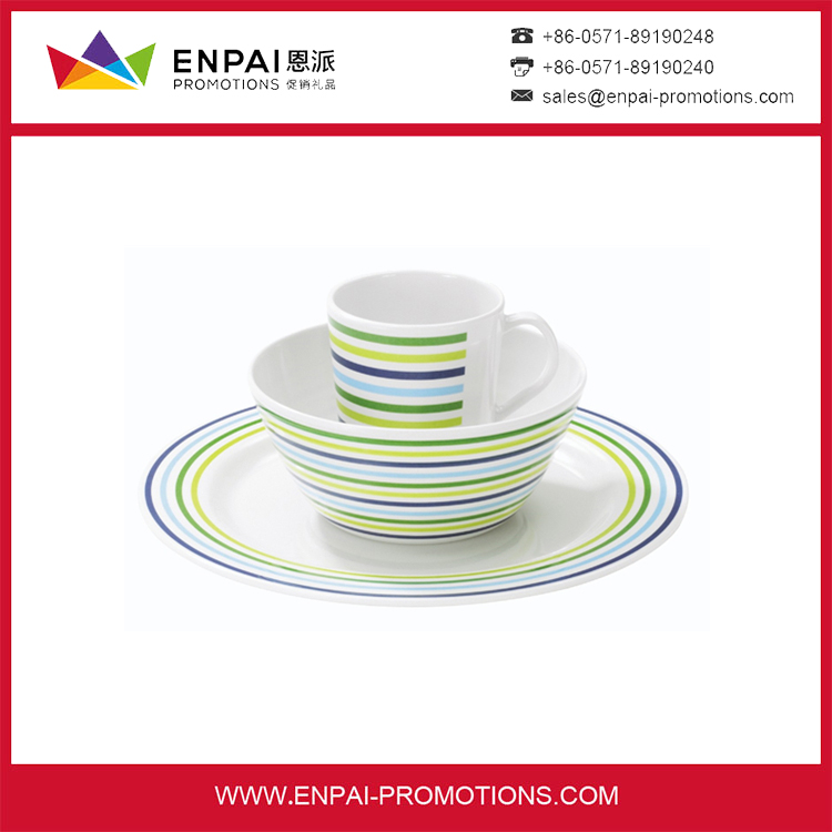 simple printed holiday dinnerware and large dinner plates