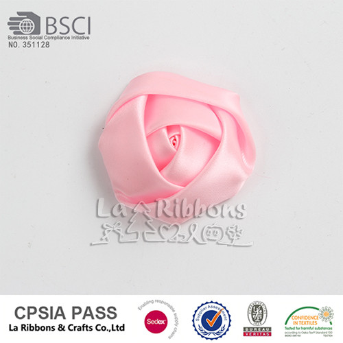 Mini hand made craft ribbon roses flower
