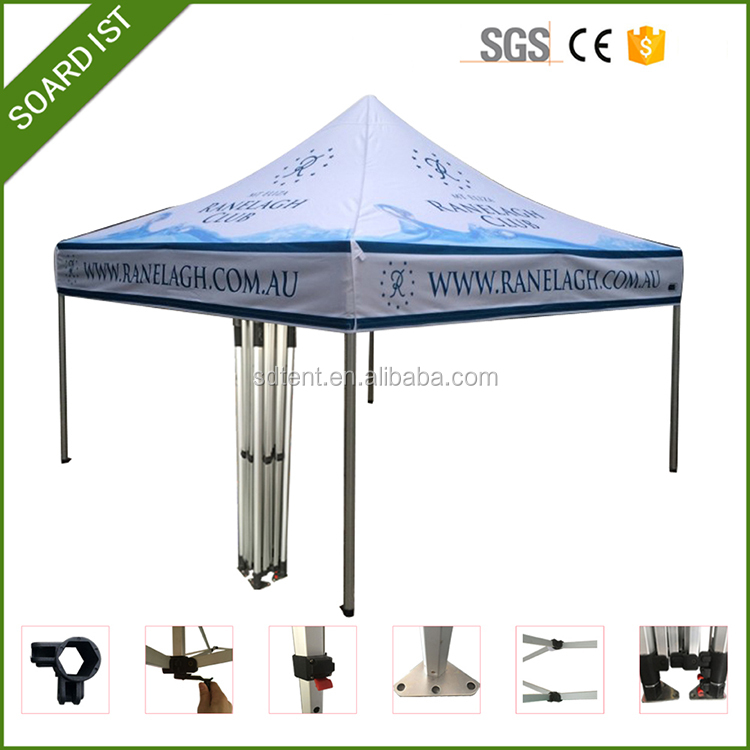 professional promotional heavy duty aluminum pop up tent