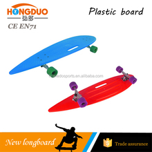 customized longboard cruiser ,plastic original board
