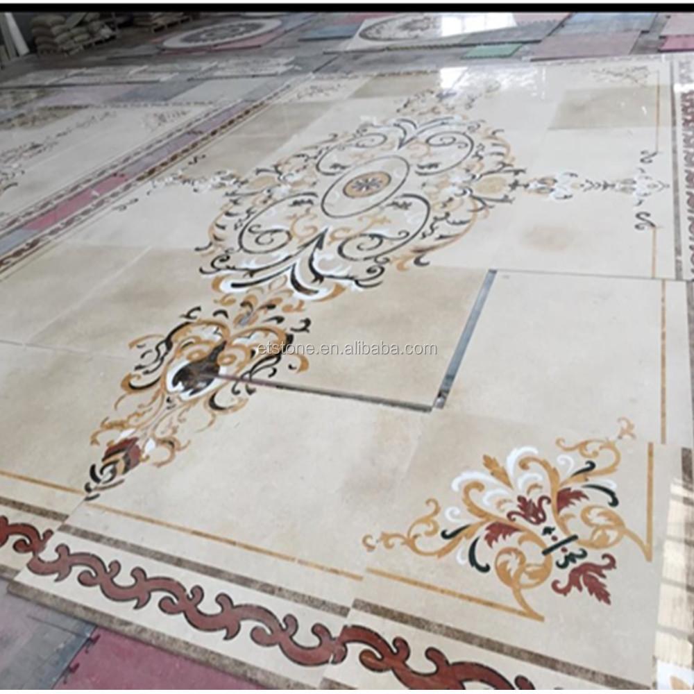 Marble Flooring Corner DesignsDecorative Stone Border Designs
