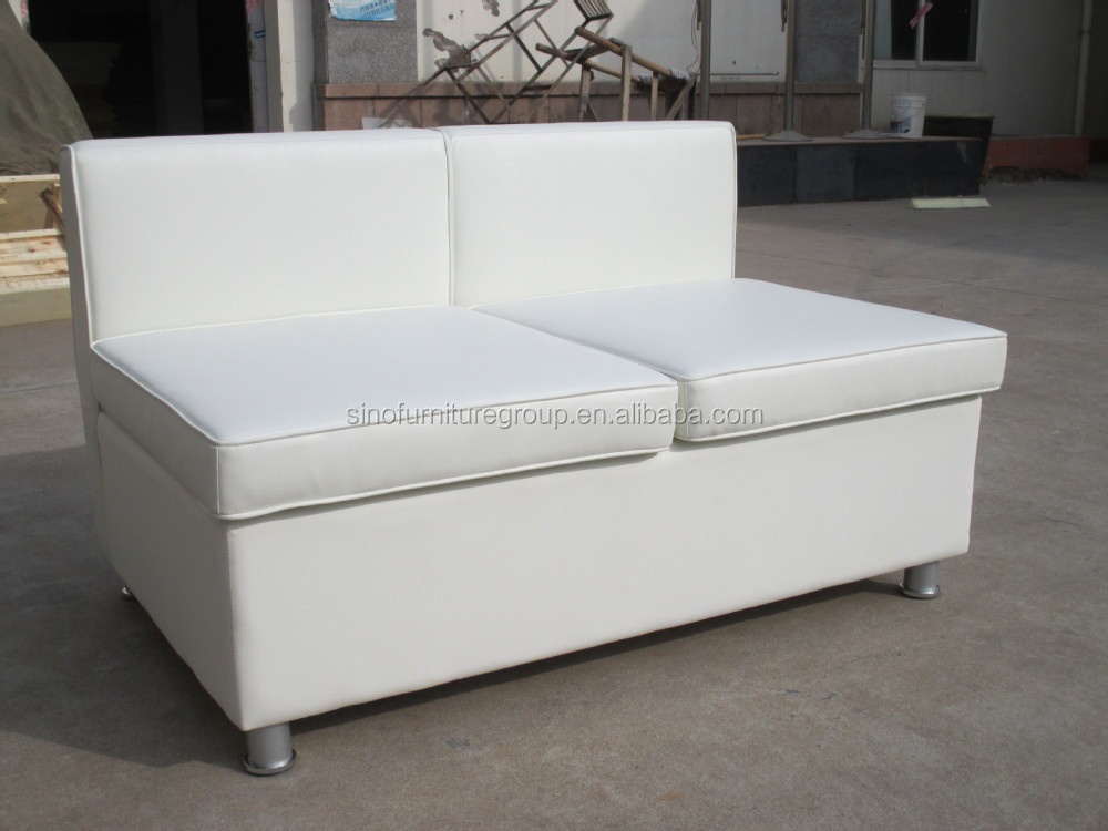 Hotsale White Commecial Double Sided Sofa Buy Double