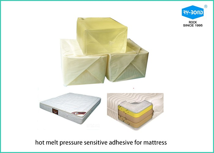 HM PSA block hot melt glue/ adhesive for mattress foam bond