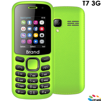 T7 with CE & FCC certificate simple bar phone 1.8inch 3G mobile phone