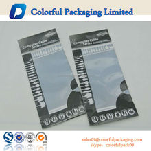 Computer Cable Series Packaging Bags with Zip