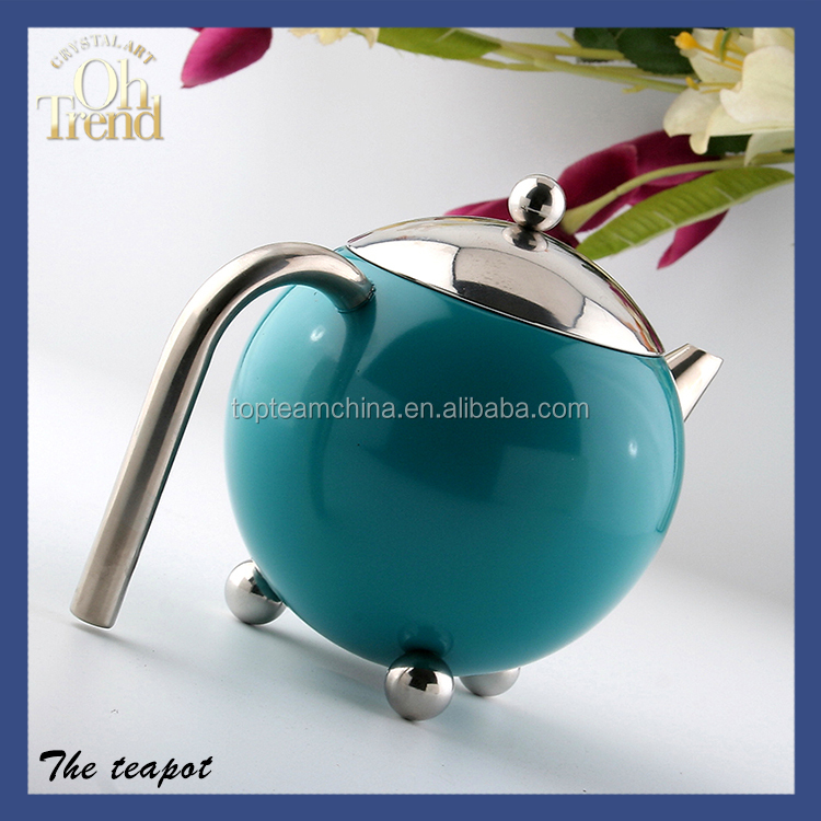 Excellent quality stainless steel tea kettle maker porcelain coffee pot