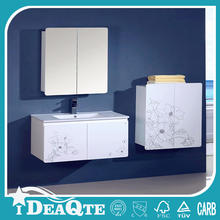 Solid Surface small bathroom vanity storage units for sink
