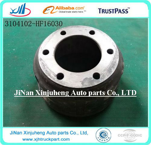 Truck part Foton Transmission part auto brake drum 3104102-HF16030(FTA) W432