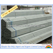 astm galvanized steel pipe price manufacturers