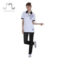 SMART HAIR Customized Uniform short sleeve print Polo Shirts for women