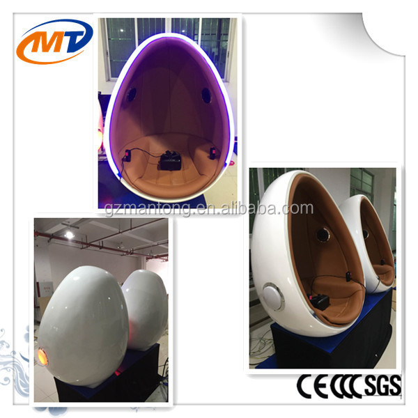 New experience !! 9d vr cinema movies/9D VR egg theater /9d egg cinema equipment for hot sale
