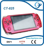 Multimedia digital 4.3 inch 32 bit handheld game, portable games player console ,video player