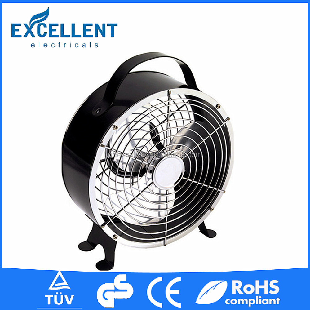 6 inch colorful high-efficiency usb mini desk fan with strong airflow