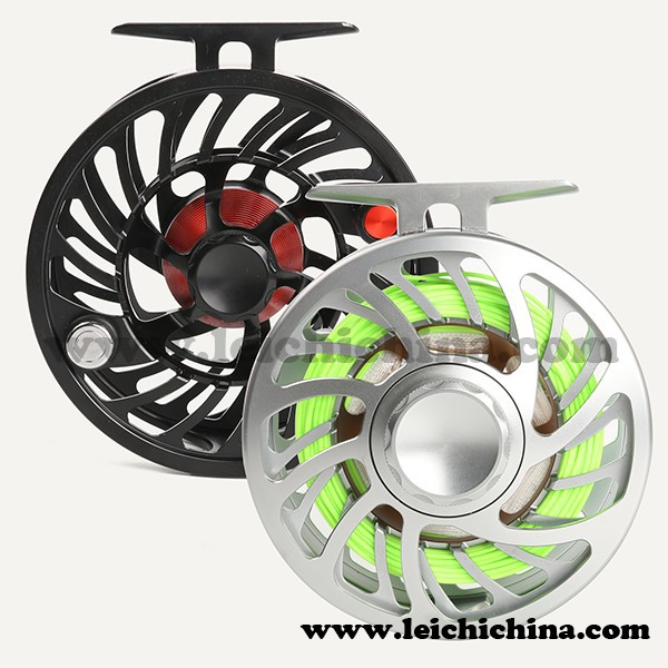 Large arbor saltwater cnc fly reel