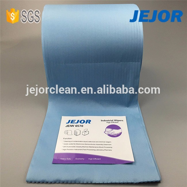 Printing Industry use 25X30cm nonwoven cleaning wipes rolls for house