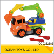 Top sale cartoon plastic tool truck toy car assembly games OC0282383