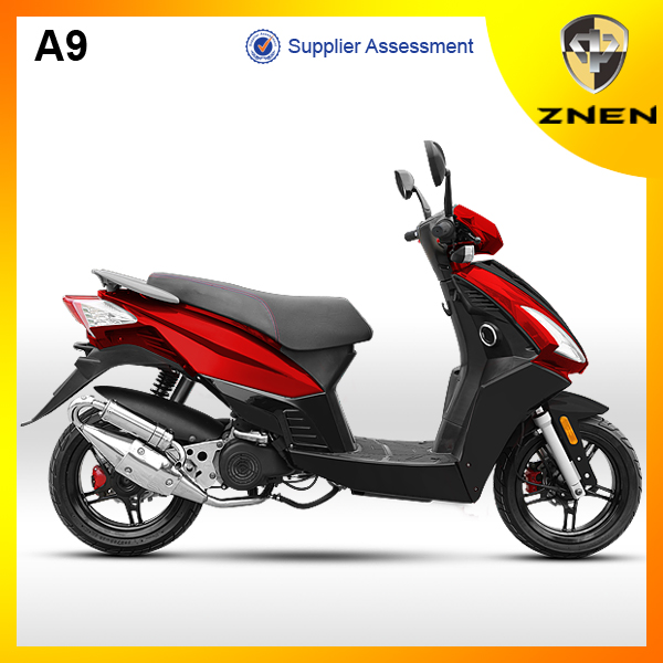 2017 Patent Gas Scooter ZNEN A9,Digital Speedometer and Air Bag Absorber Power Bike,LED signal Popular Gas Bike