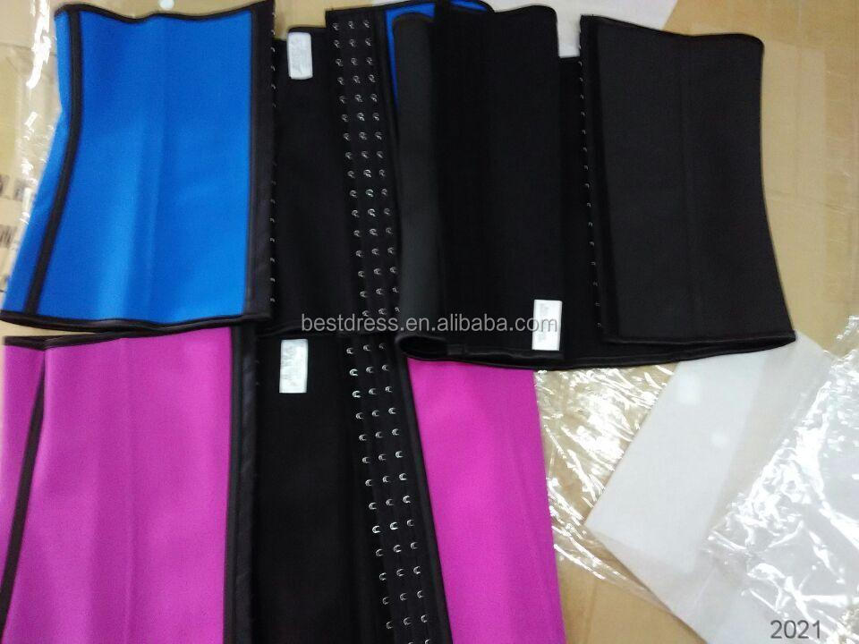 wholesale Women underwear 2 Latex sport waist trainer cincher www xxx com