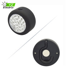 24 LED Hanging Portable Round Work Light with Magnet for Camping, Mechanical Work, Driving