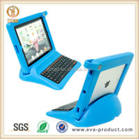 For iPad 2 Keyboard Case Soft EVA Kids Child Proof Stand Case