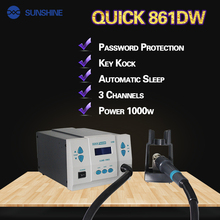 Hot Sale Quick 1000w 1300W SMD Hot Air Rework Station quick 861dw TR1300A