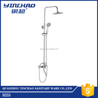 High quality wall mounted brass shower faucet