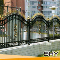 Factory Price Steel Fence Wrought Iron