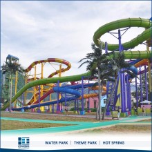 Hot Selling Spiral Slide Open Water Slide Supplier,Fiberglass Pool Slide
