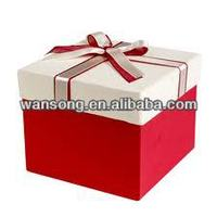 Paper Wedding Gift Packaging Box With