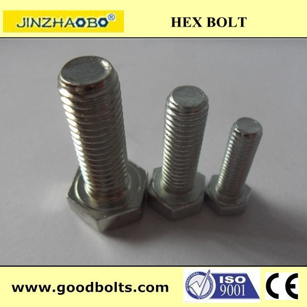 hexagonal head bolt all different size