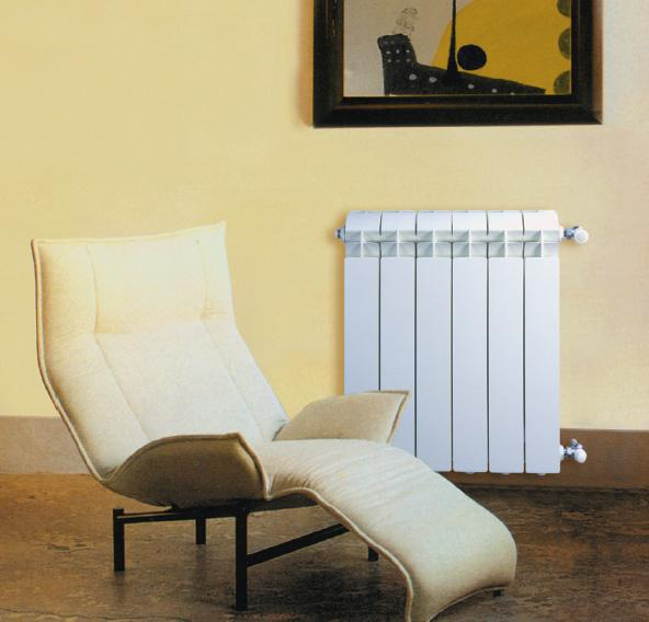 Beautiful wall painting heating radiator thermostat digital