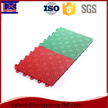 CE standard non-slip plastic outdoor interlock basketball court flooring tile