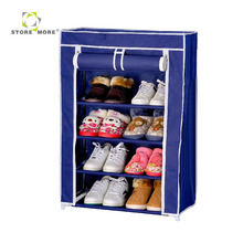 Popular Portable Closet with Fabric Cover Storage Organizer Shoe Rack