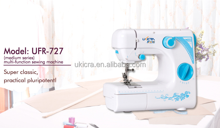 Multi-function UFR-727 motor-driven tailor sewing machine with 19 stitches