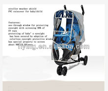 99% UV protection baby stroller cover for Rain Wind weather shield