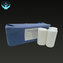 Standard size cotton sterile medical disposable absorbent wound gauze bandages roll