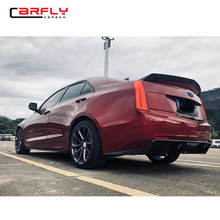 Carbon Fiber Body kits for Cadillac Ats Spoiler side skirts front lip