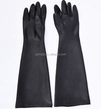 2018 chemical gloves long rubber gloves for feet high quality gloves