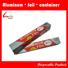 Microwave oven can be used in aluminum foil roll