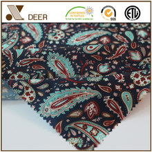 Hot Sale Garment Use Pure Polyester Woven 48*340 Printed Fabric