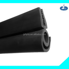 Jiangyin Huayuansupply all kinds of EPDM solid rubber parts for shower door seal strip